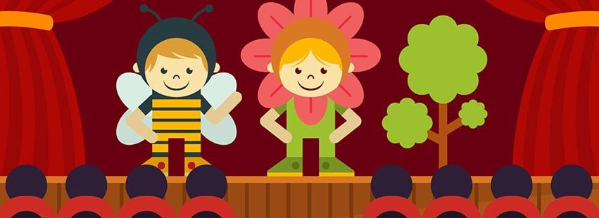 Opções de programas culturais econômicos com as crianças!