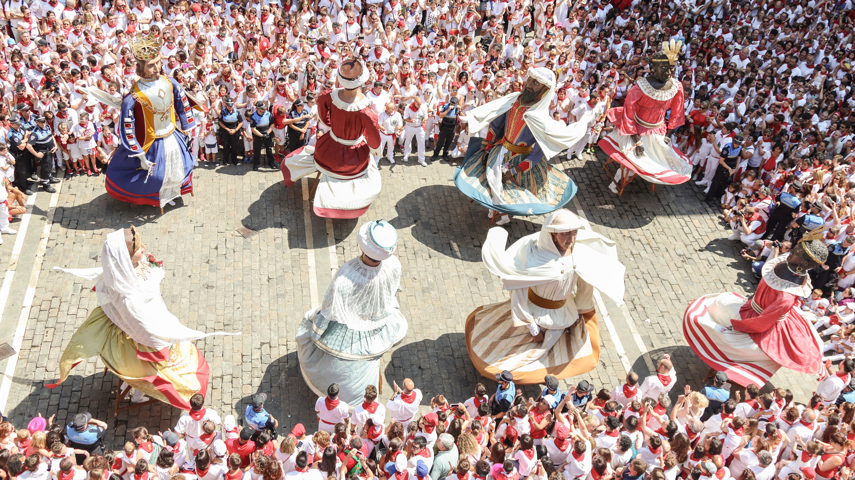 manifestação cultural com dança