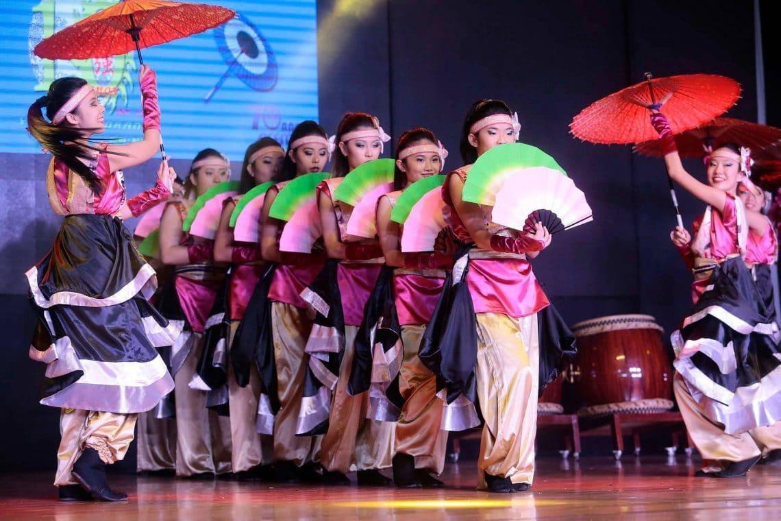 apresentação de dança japonesa