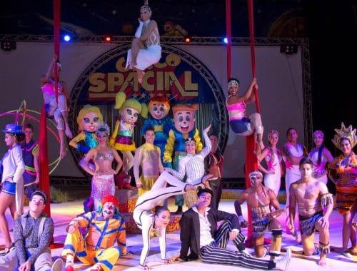 apresentação de circo
