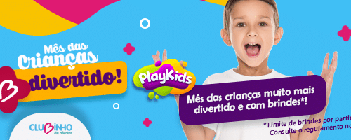 banner de promoção do clubinho dia das crianças