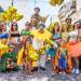 Foto de Igor Nogueira da Ala Via Láctea das mamães com bebês do Bloco Gigantes da Lira no Desfile 2020.